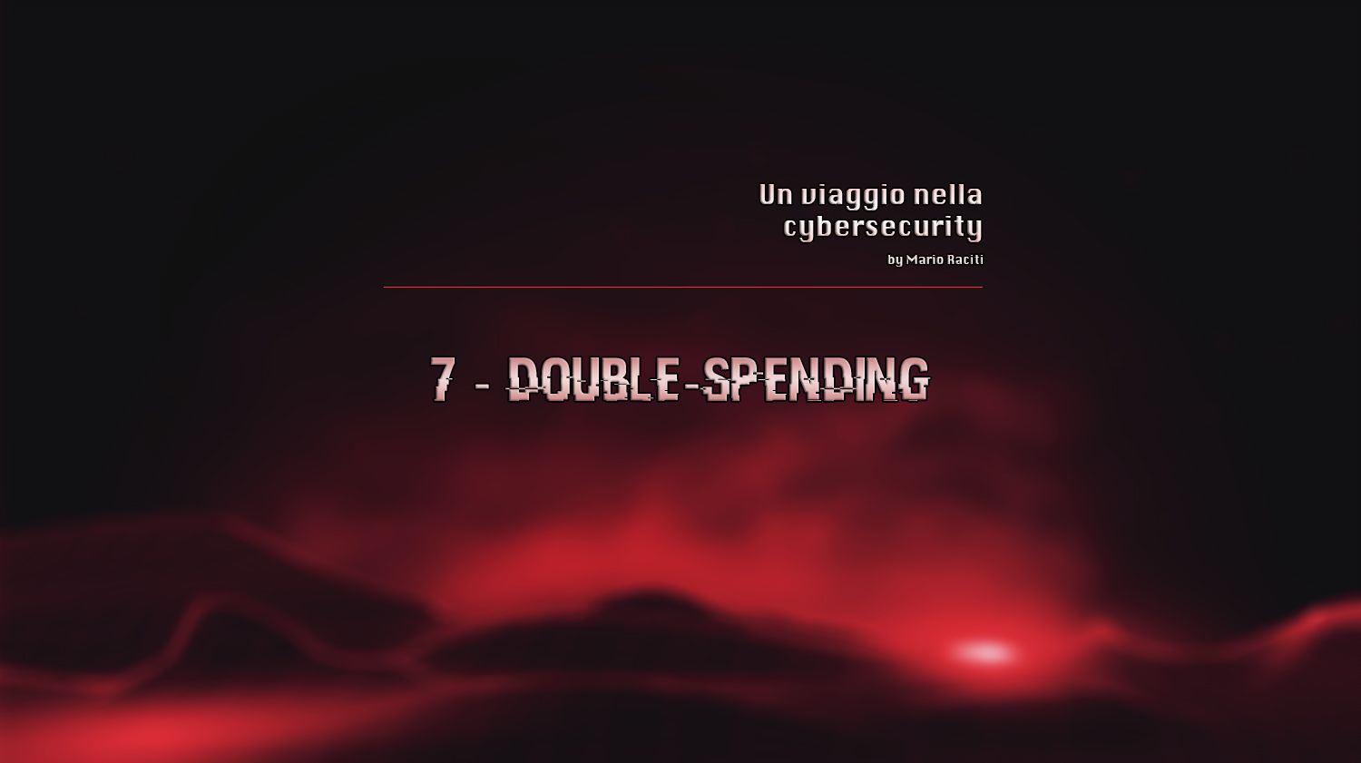 Temporalità e Double-Spending